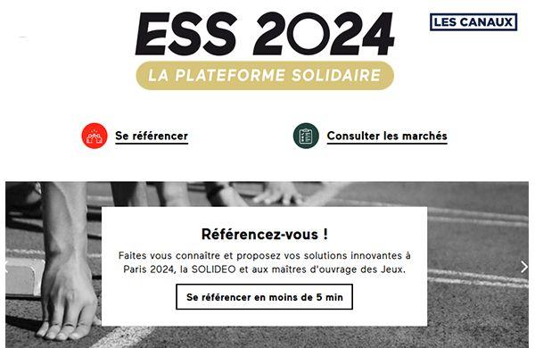 JO 2024 : des opportunités économiques pour l'ESS