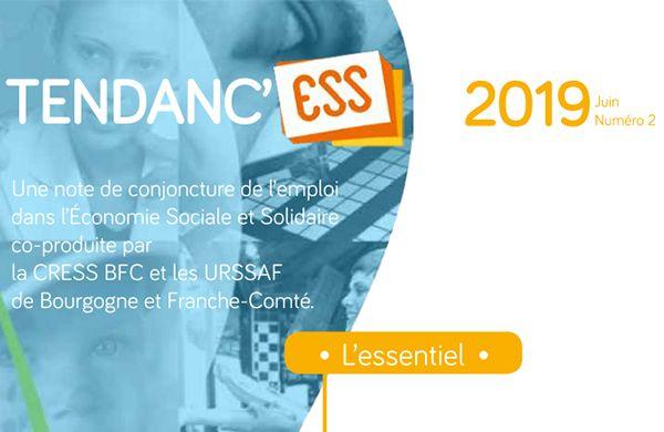 Un nouveau numéro de Tendanc'ESS, note de conjoncture dans l'ESS