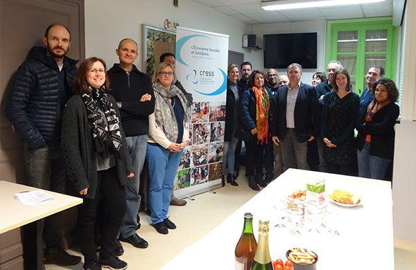 Inauguration du site de la CRESS BFC à Dijon
