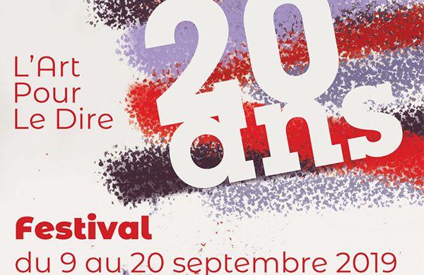 Festival des 20 ans de l'Art pour le Dire