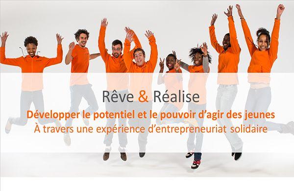 """""""Rêve et réalise"""" par UnisCité"""