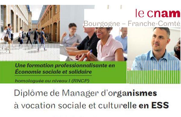 Formation Manager d'Organismes à Vocation Sociale et Culturelle