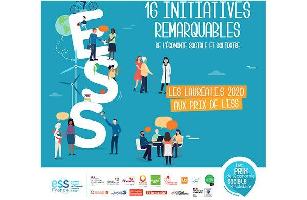 Prix ESS 2020 · Les initiatives remarquables