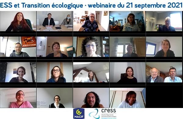 Rencontre régionale de l'ESS autour de la Transition écologique