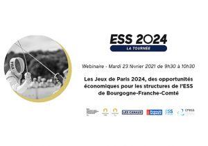 Les Jeux de Paris 2024, des opportunités économiques pour les structures de l'ESS en Bourgogne-Franche-Comté