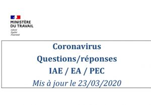 CoVid19 et IAE-EA