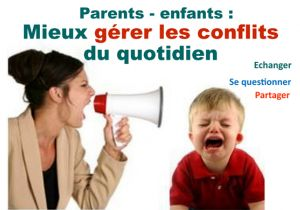 Matinée thématique Parents-enfants : Mieux gérer les conflits du quotidien