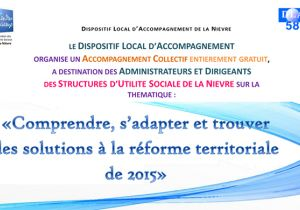 Comprendre, s'adapter et trouver des solutions à la réforme territoriale de 2015