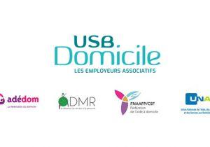Communiqué USB Domicile, les employeurs associatifs