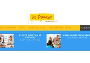 Nouveau site Francas BFC et formations à venir