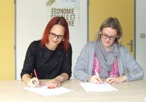 L'UDES et la CRESS signent une convention de partenariat