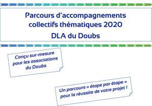 Parcours d'accompagnements collectifs thématiques 2020 du DLA 25