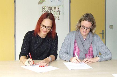 L'UDES et la CRESS signe une convention de partenariat